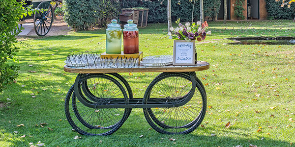 Abanik · Alquiler de Carros Temáticos Chillout · Bodas y Caterings · Vallés Occidental