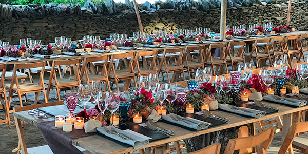 Abanik · Alquiler de Mesas de Banquetes Chillout · Bodas y Caterings · Vallés Occidental
